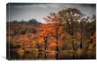 Autumn Colours at Rydal Water, Canvas Print