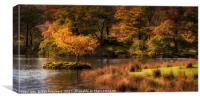 Autumn at Rydal Water, Canvas Print