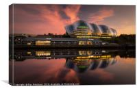 The Sage at Sunset, Canvas Print