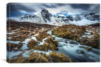 Hill of the Red Fox, Isle of Skye, Canvas Print