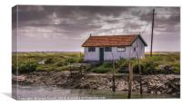 Oyster Shack, Canvas Print