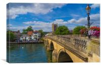 Henley on Thames, Oxforshire , England , Canvas Print