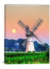 Thurne Windpump, Canvas Print