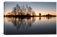 New Forest Sunrise, Canvas Print