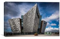 The Titanic Museum, Belfast, Canvas Print