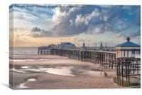North Pier, Blackpool, Canvas Print