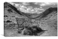 Welcome Resting Place - Martindale, Cumbria, Canvas Print