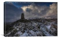 Winter On Place Fell, Canvas Print