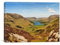 Warnscale Bottom and Buttermere, Canvas Print