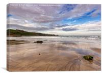 Coldingham Sands, Canvas Print