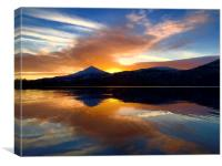 Loch Rannoch, Schiehallion, Canvas Print