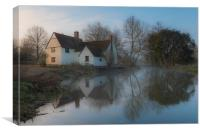 Willy Lott's House, Canvas Print