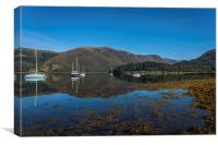 Loch Leven Reflections, Canvas Print