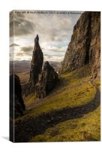 The Needle of the Quiraing, Canvas Print
