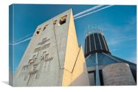 LIVERPOOL CATHOLIC CATHEDRAL, Canvas Print
