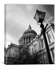 St Paul's Cathedral London, Canvas Print