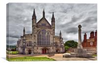 Winchester Cathedral Hampshire, Canvas Print