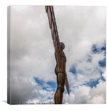 Shining Angel of the North, Canvas Print