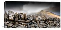 Snowdonia Wales Journey of Mountains, Canvas Print