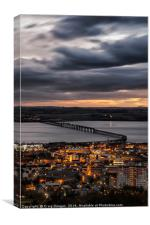 The Tay Rail Bridge - Dundee, Canvas Print