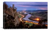 Kinnoull Tower, Canvas Print