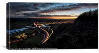 Kinnoull Hill View, Canvas Print