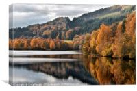 Loch Tummel Scotland, Canvas Print