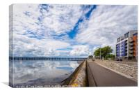 Riverside - Dundee, Canvas Print