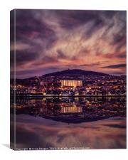 Dundee Reflections on the Tay, Canvas Print