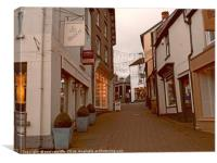 hay on wye,herefordshire, Canvas Print