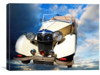 riley roadster, Canvas Print