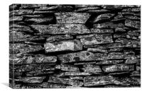 Dry Stone Wall - Lake District 1, Canvas Print