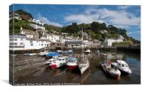Polperro Cornwall, Canvas Print