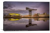 Glasgow, Canvas Print
