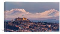 Stirling Castle after Sunrise, Canvas Print
