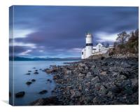 Cloch Lighthouse, Gourock, Canvas Print