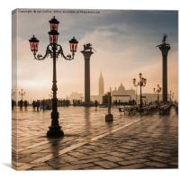 Early Morning Light in Venice, Canvas Print