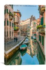 Calm Day at Sestiere di San Polo, Venice, Canvas Print