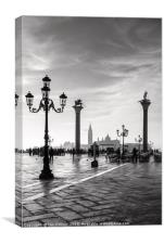 Early Morning in Venice, Canvas Print