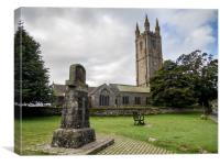 St Pancras Church, Widecombe-in-the-Moor, Canvas Print