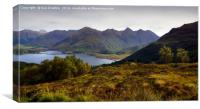 The Five Sisters of Kintail                    , Canvas Print