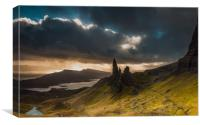 The Old Man of Storr 2, Canvas Print