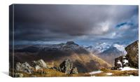 The Scafells 2, Canvas Print