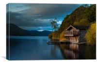 The Duke of Portland Boathouse Ullswater, Canvas Print