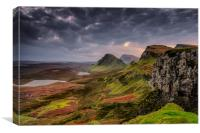 The 'Cleat' Quiraing, Canvas Print