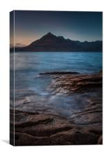 Elgol and the Cuillins #2, Canvas Print