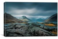 Towards Wasdale Head, Canvas Print