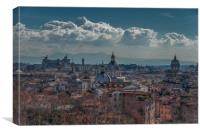 Rome Skyline #2, Canvas Print