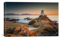 Twr Mawr Lighthouse, Canvas Print