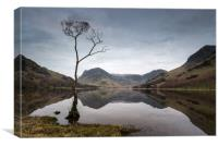Buttermere Reflections #2, Canvas Print